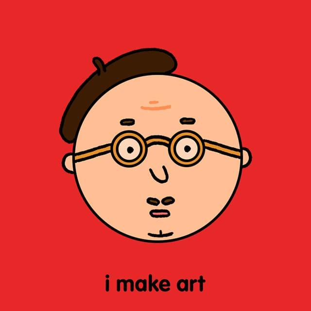 I make art by David - WONKY Illustration