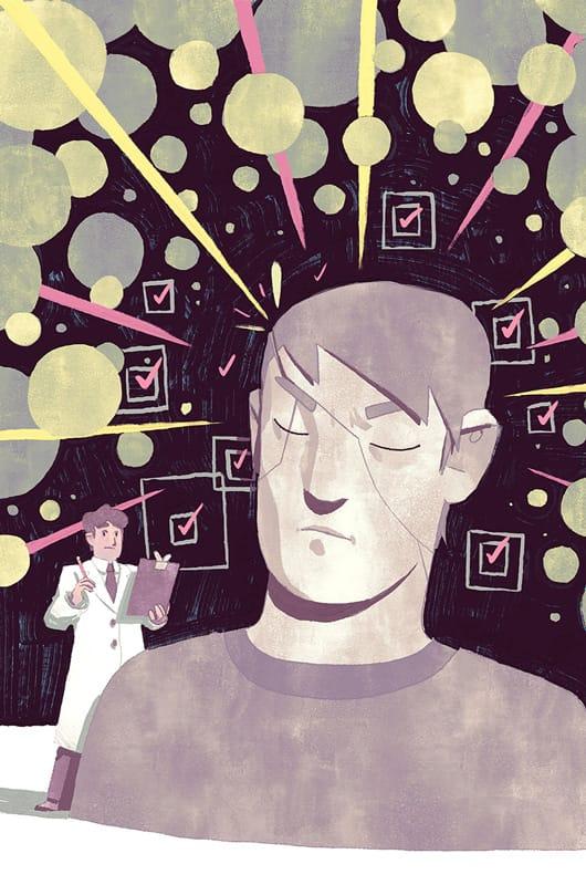 Sensory Sensitivity by Kyle - WONKY Illustration