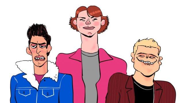 Gilmore BFs by Tom G - WONKY Illustration