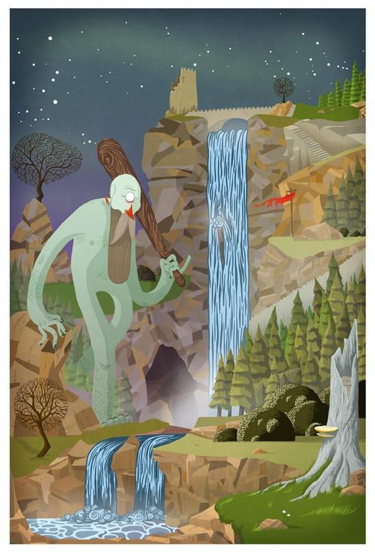 Bigfoot by Henry - WONKY Illustration