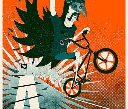 Dare Devil by Carys - WONKY Illustration
