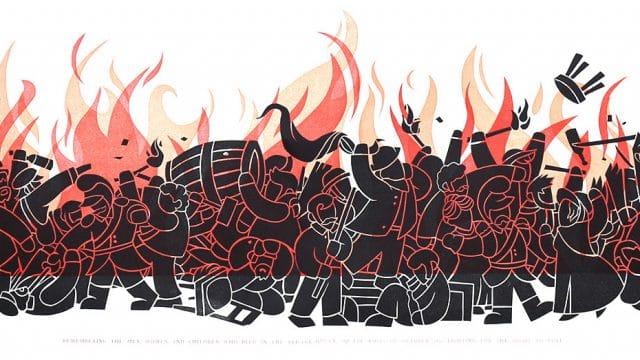 Riot by Luke - WONKY Illustration