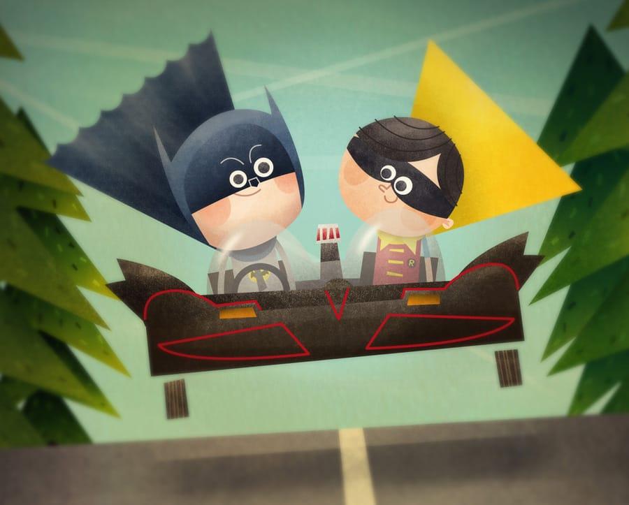 Wayne - Batman & Robin