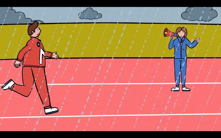 Running Training - WONKY Illustration