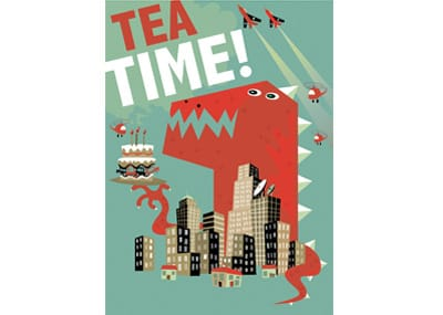 Tea Time - WONKY Illustration